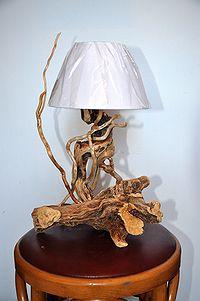 Lampade dal mare - Lampade artigianali artistiche, legno ...